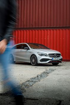 Sporty and wild: Mercedes-Benz CLA Sport Shooting Brake. Photo by Christopher Busch (www.christopher-busch.com) for #MBsocialcar