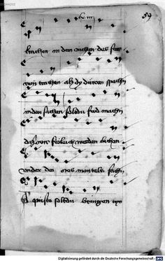 Mönch von Salzburg. Oswald von Wolkenstein: Geistliche Lieder mit Melodien Bayern/Österreich, erste Hälfte 15. Jh.: 3. Viertel 15. Jh. Cgm 715 Folio 131
