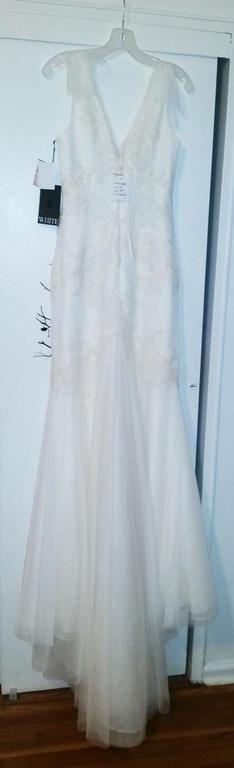 Vera Wang White VW351197, $800 Size: 8   New (Un-Altered) Wedding ...