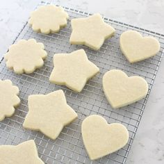 Simply the PERFECT Sugar Cookie Recipe! These cookies are soft & delicious, easy to cut and keep their shape! The only sugar cookie recipe you'll ever need!