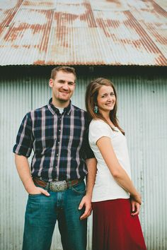 I like this for a 'no touch' engagement photo. Like, you wouldn't have to stand as close as they are.