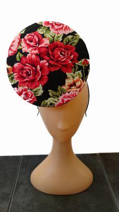 Needle point Rose Percher Hat Fascinator Hats, Needlepoint, Planter Pots, Rose, Decor, Pink, Decoration, Needlework, Roses