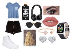 """""""Boring summer day"""" by lovinglife56 on Polyvore featuring MANGO, Vans, Valfré, Beats by Dr. Dre, Christian Dior, Lime Crime and Michael Kors"""