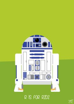 R is for R2D2 by Scott Triffle