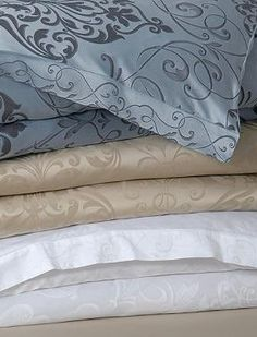 Decoratively and comfortably top your bed with the Ornato Duvet Cover that adds Roman beauty and character to your master suite while keeping you warm and cozy.