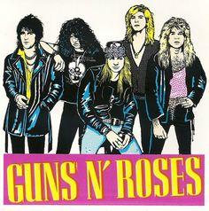Guns N Roses discovered by Leslie on We Heart It Guns N Roses, El Rock And Roll, Rock And Roll Bands, Steven Adler, Rock Artists, Axl Rose, Best Rock, Band Photos, Rose Art