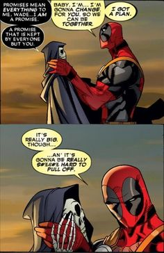 Deadpool to Get Married in April...But Who's the Bride? | Comicbook.