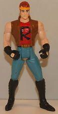 "1995 Street Biker Robin 4.5"" Kenner Figure Dark Knight Batman Forever DC Comics"