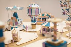 Fantastical Fairground Crafted in Paper by Makerie Studio 3d Paper Crafts, Fun Crafts, Diy And Crafts, Crafts For Kids, Arts And Crafts, Quilling Dolls, Libros Pop-up, Paper Illustration, Paper Artwork