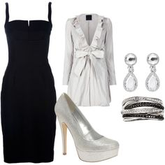 What an Awesome outfit!!! I love Black or dark navy too!!!  Can you say WANT!!!!