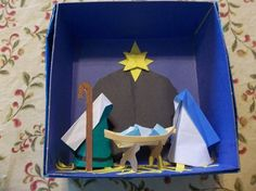 Visit the webpage to learn more about Origami Tutorials Origami Star Box, Origami Fish, Origami Stars, Oragami, Origami Nativity, Nativity Crafts, Christmas Origami, Christmas Crafts For Kids, Christmas Nativity