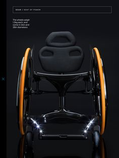 Carbon Black Wheelchair made almost entirely from carbon fiber. Carbon Black is minimally designed for offering features such as aesthetics that turn heads. It is lightweight with incredible strength Lightweight Wheelchair, Mobility Aids, Style Matters, Carbon Black, Yanko Design, Mobile Design, Carbon Fiber, Industrial Design, Inventions