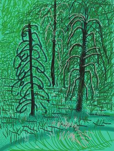 "David Hockney, ' ""Untitled No. 16"" from ""The Yosemite Suite""', 2010"