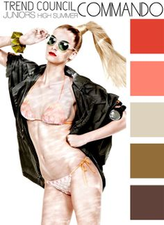 WeConnectFashion Trends| WOMEN'S S/S 2014 HIGH SUMMER COLOR. TREND COUNCIL, International Trend Forecasting Report For Fashion Business