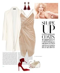 """""""#velvetdress"""" by nissaat on Polyvore featuring Oris, The Row, Boohoo, Gianvito Rossi and Alexander McQueen"""