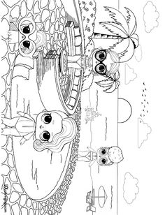 Ladybug Coloring Page, Puppy Coloring Pages, Coloring Pages For Girls, Cartoon Coloring Pages, Coloring Pages To Print, Coloring For Kids, Colouring Pages, Printable Coloring Pages, Coloring Books