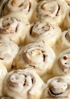 One hour cinnamon rolls