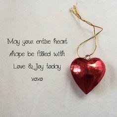 Share a Heart Fill a Heart Big Love xo