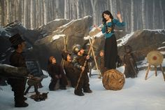 Snow White and the Seven Dwarves in Relativity Media's Mirror Mirror
