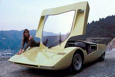 Concept Cars - Pininfarina Ferrari 512 S Berlinetta Speciale 1969.