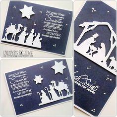 Cardmaking by jolagg: Kartki bożonarodzeniowe - tryptyk