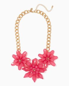 charming charlie | Sprouting Floral Necklace #charmingcharlie
