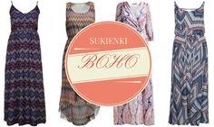 Najmodniejsze sukienki boho style