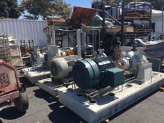 FLOWSERVE CENTRIFUGAL PUMP  MODEL # 4HPX13A  1140 GPM WITH 200 HP MOTOR #Flowserve