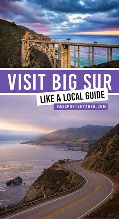 Gorgeous Big Sur, California has become a popular destination for travelers. Be … – Mick Blackwell - special Us Travel Destinations, Places To Travel, Usa Travel Guide, Travel Usa, Travel Tips, Travel Guides, Travel Info, Travel Packing, California Travel