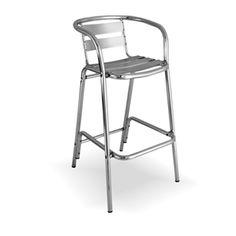 Round Frame Ladder Back Aluminum Bar Stool Restaurant Furniture Commercial Outdoor Seating Metal Chairs Metal Stools Aluminum Chairs bar stool b Patio Rocking Chairs, Wicker Chairs, Furniture Chairs, Restaurant Patio, Restaurant Furniture, Metal Stool, Metal Chairs, Aluminum Bar Stools, Outdoor Bar Stools