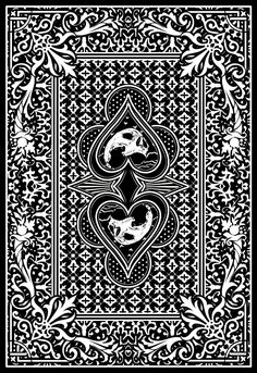 playing card design by ~crochface on deviantART