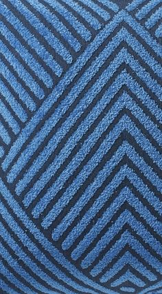 Versatile and contemporary, our Carved Diamond Royal Outdoor Pillow brightens a deck or patio with fresh color and a unique chevron-like design. Rhapsody In Blue, Outdoor Pillow, Blue China, Mold And Mildew, Dream Job, Mild Soap, Decorative Accessories, Chevron, Coastal