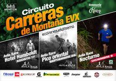 AVILA RACE NOCTURNO Circuito Carreras de Montaña EVX * 6 de diciembre, 7pm* Entrada del Ávila en San Bernardino, #Caracas *