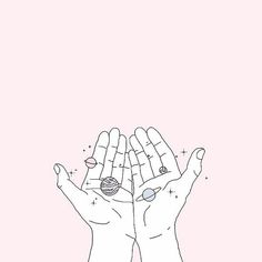 🌌✨ Girl almighty, you have the whole universe in your hands! 😚 #motivation #inspiration #strength #positivity #positive #positivevibes… We Heart It, Pink, Hands, Rose, Vs Pink