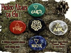 A great set of stones to use as a Pocket Altar when you're on the go.