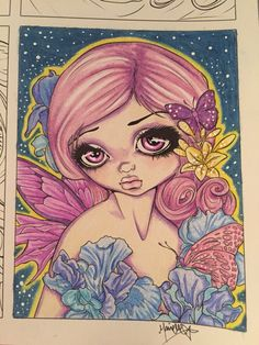 Jasmine Becket Griffith| Colored by Marielle Nilsson