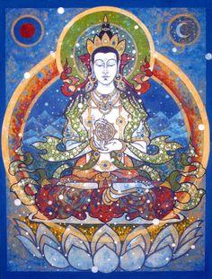 Vairocina Buddha by Aloka