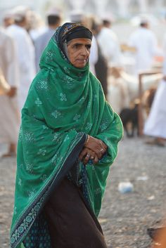 Omani woman photographed in Nizwa by CharlesFred via flickr