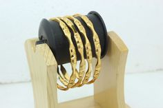 Indian Bollywood Bridal Collection Bangle/Bracelets Gold Plated 2.8 Size