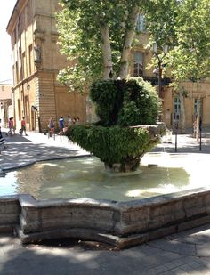 I enjoyed the open air markets here. Aix En Provence, Provence France, French Countryside, French Riviera, France Travel, Oh The Places You'll Go, Vacation Spots, Landscape Design, Beautiful Places