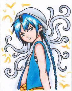 Magi: The Cardset - Aladdin by Feelicitas
