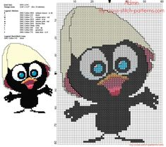 admin's photos - page 2 - free cross stitch patterns simple unique alphabets baby Beaded Cross Stitch, Cross Stitch Baby, Cross Stitch Patterns, Stitch Character, Diy Broderie, C2c Crochet, Little Birds, Betty Boop, Cross Stitching