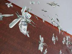 Mabona Origami sculptures... AMAZING