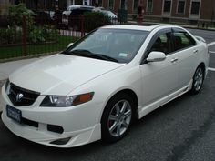 2004 Acura TSX, have the car now just need the body kit!