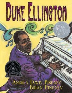 Duke Ellington: The Piano Prince and His Orchestra by Andrea Davis Pinkney,http://www.amazon.com/dp/0786814209/ref=cm_sw_r_pi_dp_wb5Hsb0VSG27A8XX