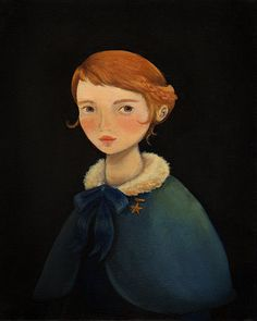 Professor Stella Print / Oddfellow's 2012 Portraits, by Emily W. Martin (aka the black apple); 8x10 in., $ 16.00, via Etsy