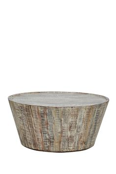 Hyannis Coffee Barrel Table by Natural Rustic Furniture on @HauteLook