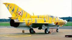 "Mig-21UM ""Mongol-B"" Polish Air Force."