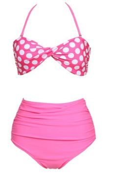 new 2013  hot selling  Fashion female vintage high waist  polka dot  bikini  swimwear vintage high waisted two piece swimsuit-inBikinis Set from Apparel  Accessories on Aliexpress.com $23.00