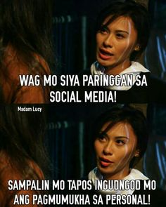 Less talking More action Tagalog Quotes Hugot Funny, Pinoy Quotes, Hugot Quotes, Jokes Quotes, Qoutes, Filipino Memes, Hugot Lines, Deep Thoughts, Best Quotes
